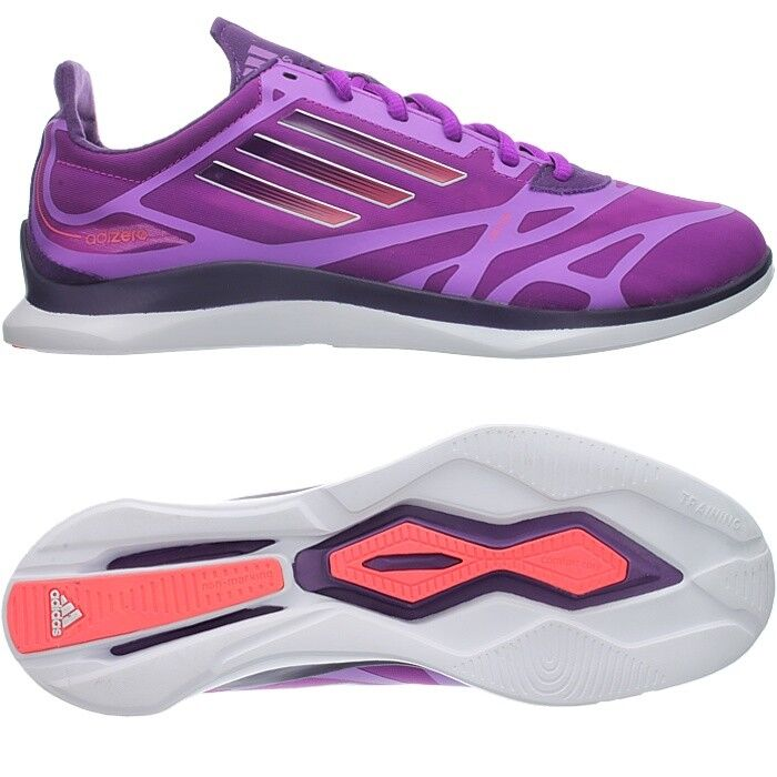 Adidas ADIZERO SUPREME women fitness shoes trainers purple OP NEW