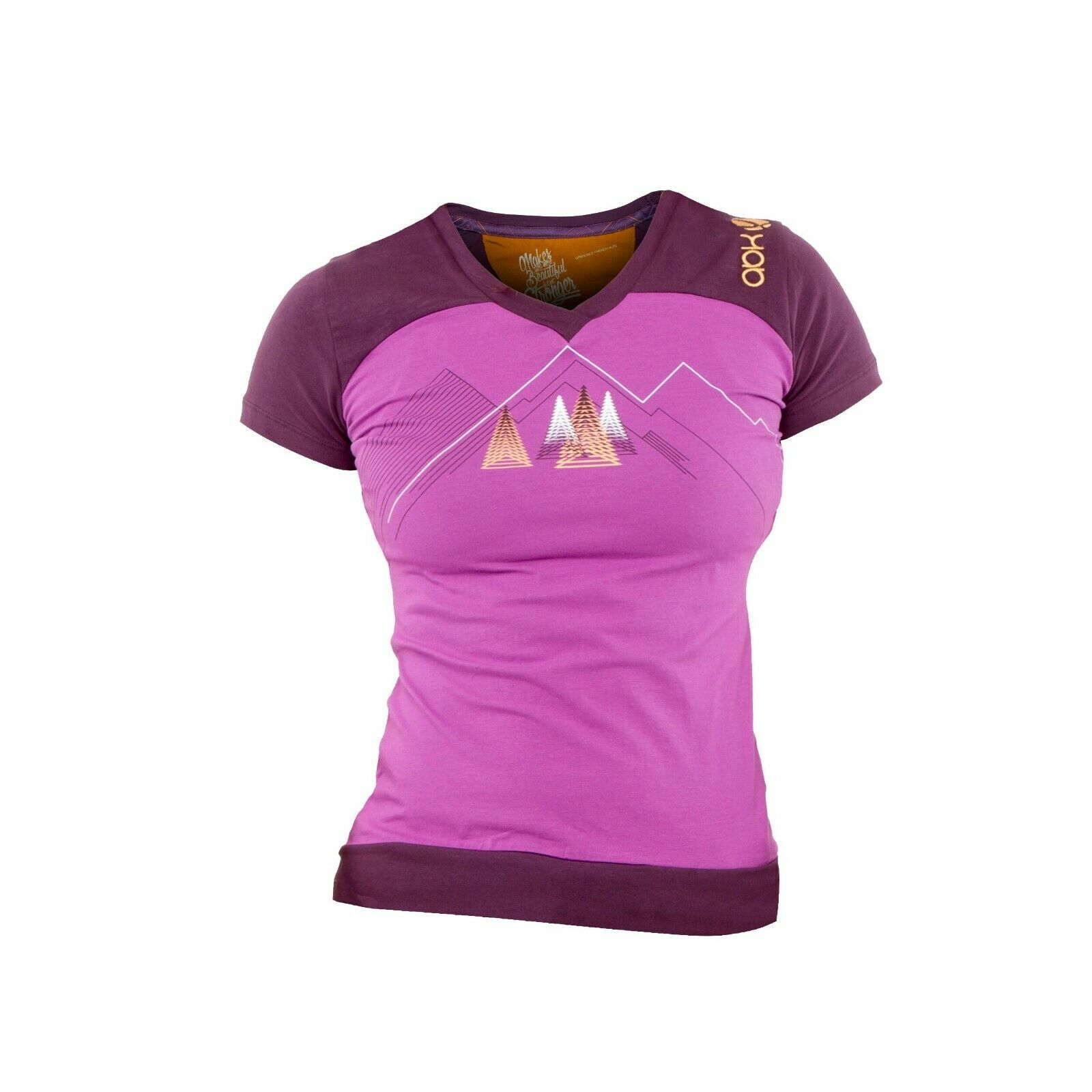 Abk Maud Tee Women Elastic T-Shirt for Women's  Deep purplec  authentic quality