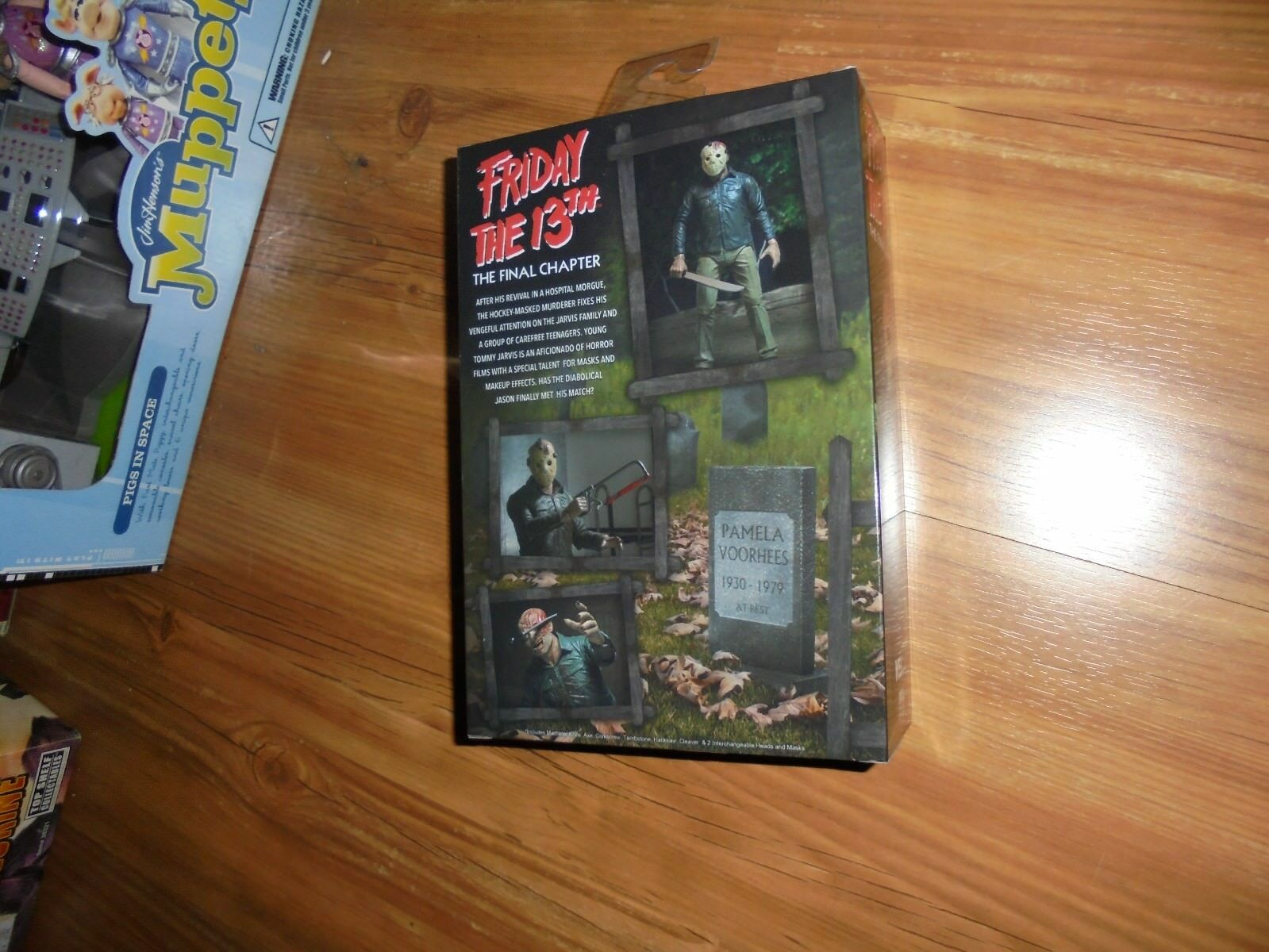 Friday the 13th 13th 13th The Final Chapter  JASON VOORHEES  Boxed Action Figure NECA 2017 7b65e6
