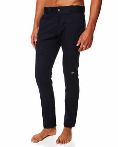 DICKIES-Skinny-straight-double-knee-pant-DARK-NAVY-WP811-work-PANTS-FREE-POST