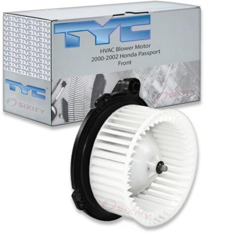 TYC Front HVAC Blower Motor for 2000-2002 Honda Passport  rx