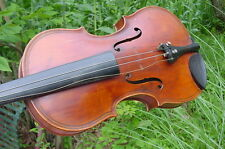 RETROFLASHBACKS ANTIQUE  VIOLIN  MAGGINI ONE PIECE BACK C1900  BURL MAPLE