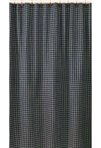 Image Is Loading Sturbridge Navy Blue Country Plaid Shower Curtain By