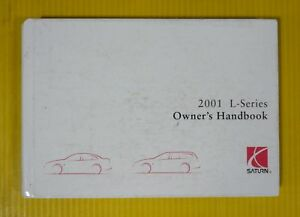 L-Series 01 2001 Saturn Owners Owner's Manual