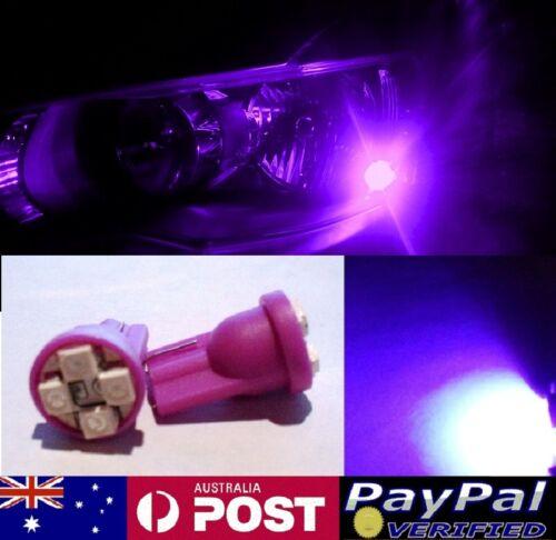 Mitsubishi Magna Verada TE TH TR TJ TS Purple UV LED T10 Parker Bulbs