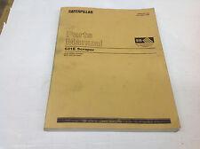 CAT Caterpillar 631E Scraper 4LD1-9999, 6PC1-668 Parts Manual, Dec 1999