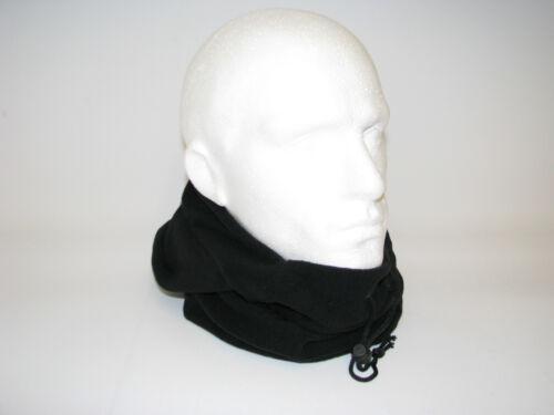 Unisex Winter Fleece Snood Long Thermal Neck Head Warmer Hood