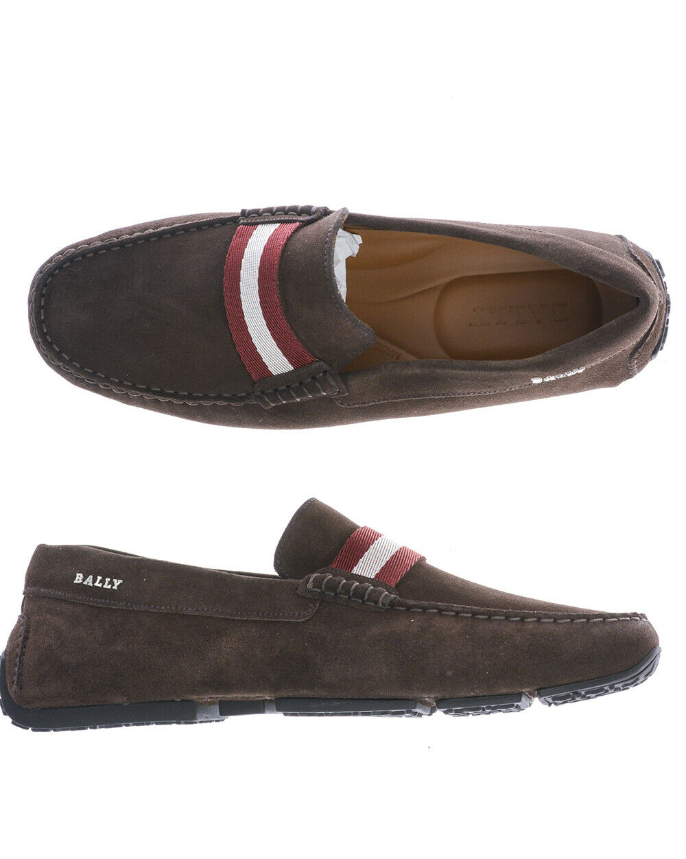 Mocassin Bally shoes PEARCE Cuir Homme brown 6206923 151 TL. 43,5 FAIRE OFFRE