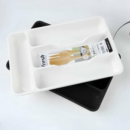Spoon Fork Cutlery Organizer Kitchen Drawer Separation Storage Tray Cxz ing2