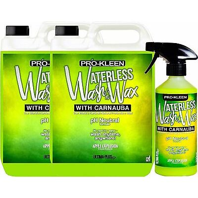 pH Neutral Car Waterless Wash Wax contains Carnauba Wax Car Care Cleaner Shine