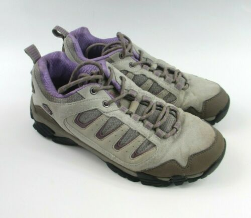 Pacific Trail Alta Hiking Gray Purple Shoes Size 1