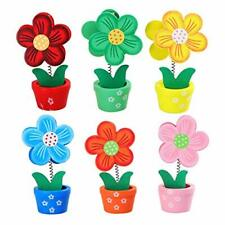 New Listingbestoyard Wood Memo Holder Clips Flower Shape Card Stand Place Cards