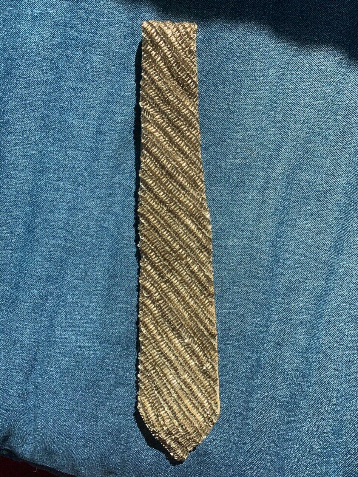 RARE Ralph Lauren Collection Purple Label Crystal Beaded Neck Tie