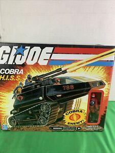 Hasbro G.I. Joe Cobra Hiss Tank With Driver Figure Box Damage