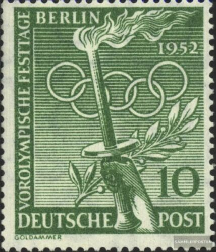 Berlin West 89 unmounted mint never hinged 1952 PreOlympic Holidays