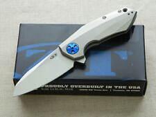 Zero Tolerance ZT 0456 Ti Framelock Folding Knife Flipper w/ CTS-204P Steel!