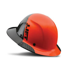 Lift Safety Dax Fifty 50 Carbon Fiber Full Brim Hard Hat 50 50 Orange Amp Black