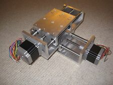 Twin Z axis DIY CNC PLASMA OXY ROUTER NEMA 23 MOTOR INCLUDED linear slide motion