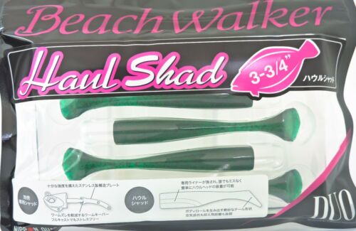 Duo Beach Walker Haul Shad Soft Plastic 3 3//4 Inches Color S005