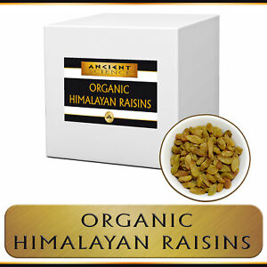Details about Himalayan Raisins Organic Bulk - Wholesale Supplier Kosher -  5 lbs