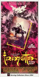 1991-Comic-Images-Fantasy-Art-Frazetta-Series-1-Trading-Card-Box-36-x-2-Rare