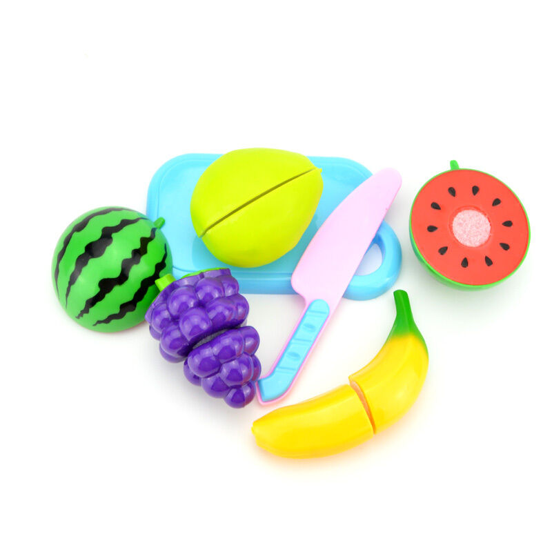 Small Toy Food : Small kitchen food play toy cutting fruit vegetable for