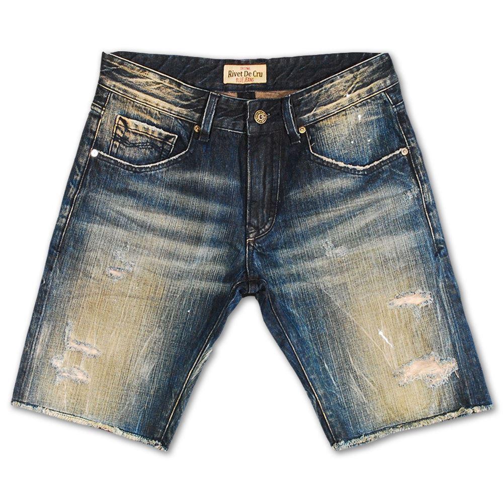 Rivet De Cru Vapor bluee Denim Shorts