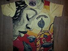 Men T Shirt YOGA MEDITATION BUDDHA SHiwa Zen HIPPIE Peace Hobo Boho M MIRROR x