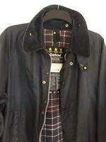 Barbour Beaufort Navy Wax Jacket