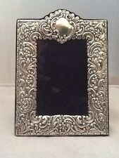 Superb Large Rococo Style Solid Silver Photo Picture Frame