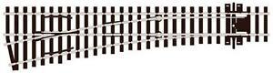 Peco-SL-E196-OO-Gauge-Code-75-Electrofrog-L-H-Medium-Radius-Point