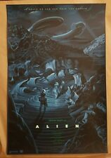 Laurent Durieux Alien Print Poster Regular SOLD OUT Bottleneck Gallery Alien Day