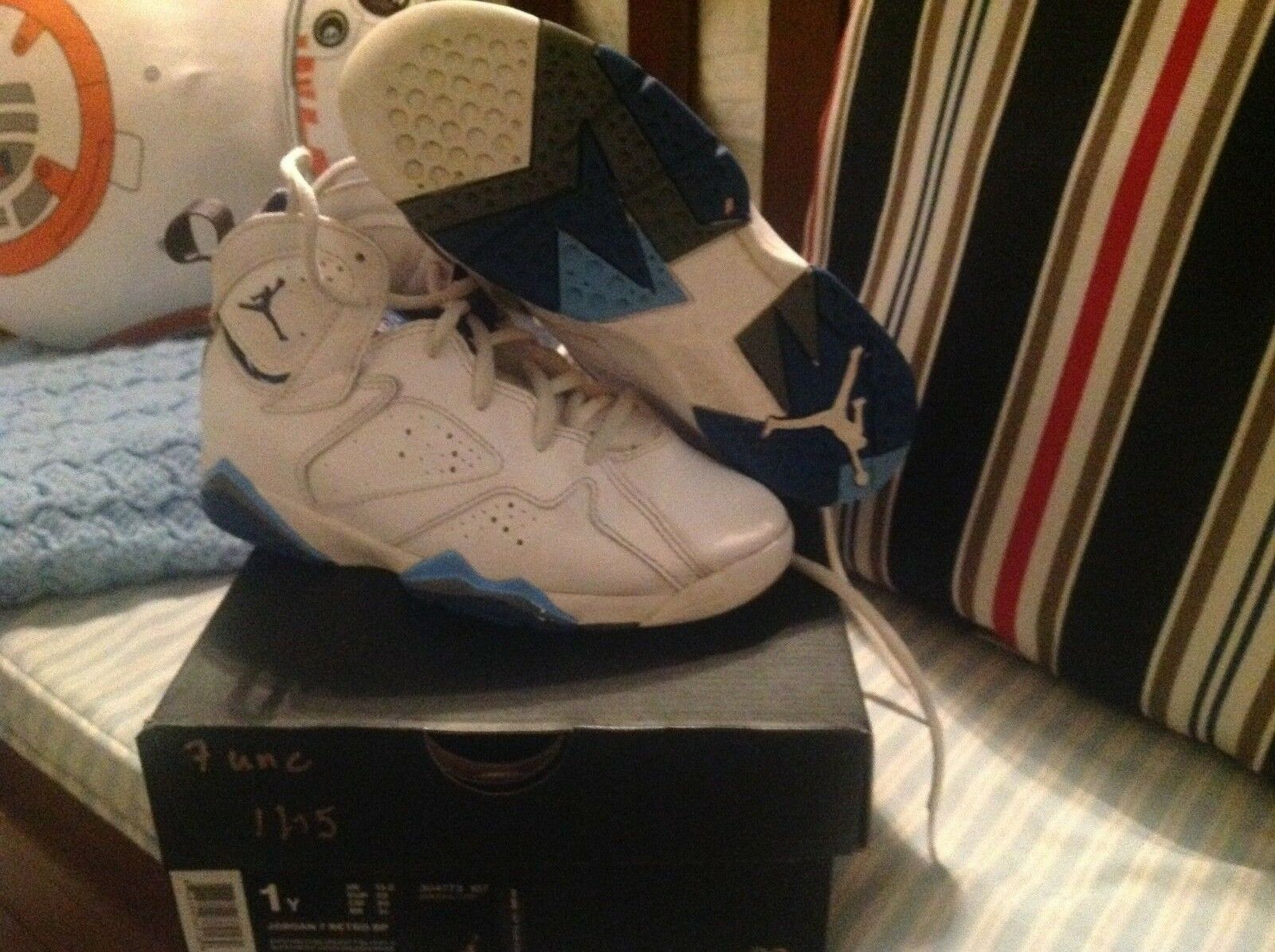 Air jordan 7 unc blue gray size 1 Cheap women's shoes women's shoes