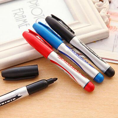 New 3 Color Highlighter Marker Pen Black Red  Black Premium Artist Markers