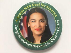 Congresswoman-Alexandria-Ocasio-Cortez-3-034-Button-034-A-Green-New-Deal-for-America-034
