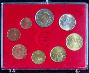 SAX2002.2 - SERIE SAINT MARIN - 2002 - 1 cent à 2 euros