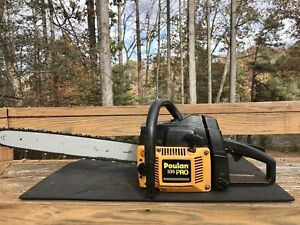 Video-Poulan-Pro-335-Chainsaw-with-20-inch-bar-Nice-Running-Saw