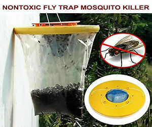 Mosquito-Catcher-Outdoor-Disposable-Nontoxic-Fly-Trap-Insect-Pest-Control-R