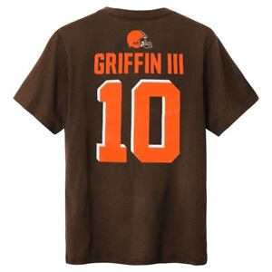 Robert Griffin III NFL Cleveland Browns Name & Number Home Jersey ...