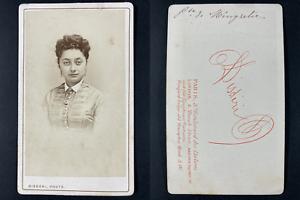 Disdéri, Paris, Princesse de Mingrélie Salomé Dadiani Vintage cdv albumen print.