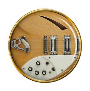 Rickenbacker-Guitare-Broche-Badge
