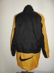 vintage Nike Nylon Regenjacke glanz 90`s Jacke Borussia Dortmund Sport Jacke XL