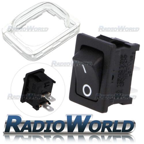 12V 16A Nero Mini Rettangolo Interruttore Rocker Auto//Dash porta luce ON//OFF SPDT i 0