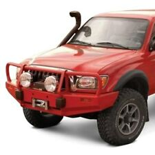 For Toyota Tacoma 95 04 Bumper Deluxe Full Width Stain Black Powder Coat Front Fits Tacoma