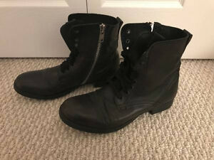 Steve Madden Gramm Men's Combat Boots Size 11 in Original Box