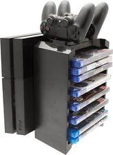Venom PS4 2 en 1 Juegos Almacenamiento Torre & Doble Puerto De Carga - VS2736