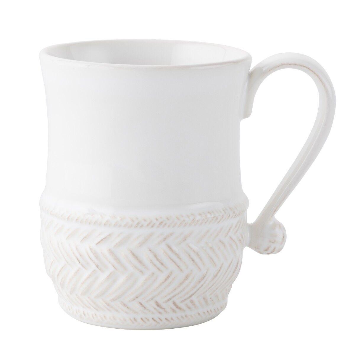 Juliska Le Panier blancwash Mug - Set of 4