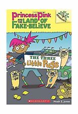 The Three Little Pugs: A Branches Book (Princess Pink and the L... Free Shipping