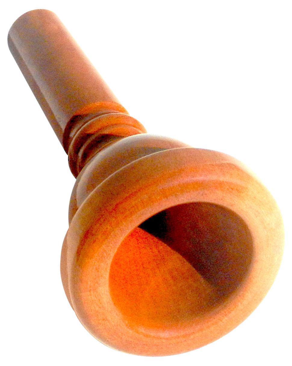 Hochwertiges Mundstück für Bariton aus Birnenholz für ein angenehmes Spielgefühl