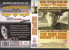 The Man Who Wasn't There Video Promo Sample Sleeve/Cover #10702